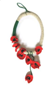 wonderful crocheted jewellery★