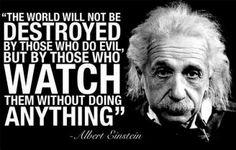 Wisdom from Albert Einstein!