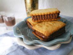 Sandwich Helado de Chocolate y Baileys