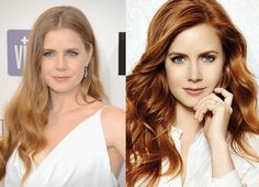 By: Anna Terrill Anything Blondes Can Do, Redheads Can Do Better You may be surprised to learn that some of. Brown Balayage, Blonde Balayage, Blonde Highlights, Blonde Redhead, Brunette Hair, Red Head Celebrities, Celebs, Amy Adams, Summer Curls