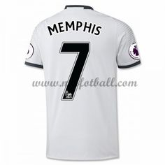 Billige Fotballdrakter Manchester United 2016-17 Memphis 7 Tredje Draktsett Kortermet Memphis, Manchester United Trikot, Premier League, The Unit, Club, Sports, Shopping, Tops, Third