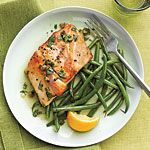 Sautéed Striped Bass with Lemon-Caper Sauce Recipe | MyRecipes.com