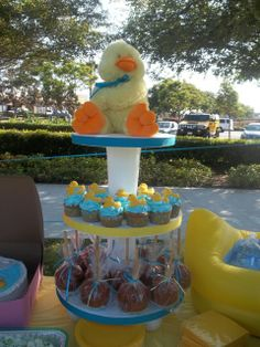 Rubber Ducky Baby Shower #babyshower #ducky