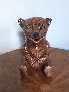 Antique-American-Majolica-Seated-Bear-Pitcher-fm996