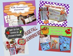 Teaching Heart Fall Bundle of Printables