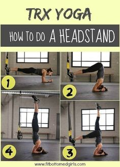 TRX headstand! TRX Yoga! Merge the exercises to get a totally different spin on your normal workout! - http://www.amazon.de/dp/B00RLH0M6C