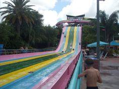 Visita en familia al parque acuático Aquatica en Orlando #viajarenfamilia