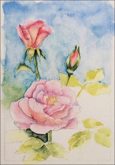 EmptyEasel.com - How to Draw a Realistic Rose - Step 3