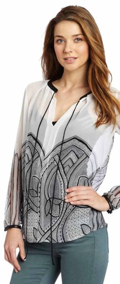 Tt Collection Long Sleeve Blouse