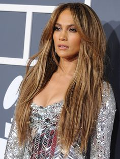 Oh Jlo, on point as always. I had lighter skin, I'd color my hair this beautiful golden blonde