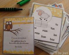 Au fil des jours: Syllabes = Mots http://aufildesjours-claudia.blogspot.fr/2011/03/syllabes-mots.html