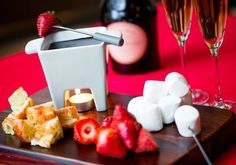 for two at Mandarin Oriental, Washington D. Visit Muze the entire month of February to stay warm with this sweet treat. Mandarin Oriental, Stay Warm, Fine Dining, Washington Dc, Fondue, Nutella, Raspberry, Sweet Treats, Lily