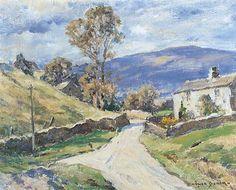 Bowen, Owen, (1873-1967), Storiths, Bolton Abbey, West Yorkshire, Oil