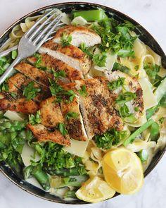 Címke: petrezselyem | Ízből tíz Linguine, Ramen, Quinoa, Chicken, Meat, Ethnic Recipes, Food, Essen, Yemek