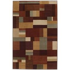 @Overstock - Add a modern feel to your entry way or kitchen with this New Wave earth hue multi rug. This stunning rug boasts geometric color blocking in warm earth tones, and features durable action backing, which helps protect the flooring underneath.http://www.overstock.com/Home-Garden/New-Wave-Earth-Hue-Multi-Rug-8-x-10/6668724/product.html?CID=214117 $168.99