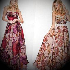 vestidos longos modelo Mulher, Feminino, Modelo 9d38f17f11