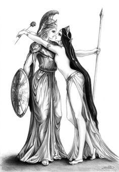 Alexander and Bagoas by Develv