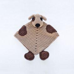 Ravelry: Puppy Dog Security Blanket pattern by Carolina Guzman.