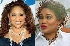 Kim Coles is another actress who went natural and looks better for it.