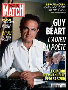 Dans Match cette semaine: Guy Béart, l'adieu au poète