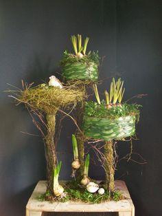 1 Art Floral, Floral Artwork, Deco Floral, Floral Design, Ikebana, Flower Show, Flower Art, Spring Flowering Bulbs, Workshop Design