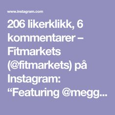 "206 likerklikk, 6 kommentarer – Fitmarkets (@fitmarkets) på Instagram: ""Featuring @meggan_fit_music - BOOTY WITH A BALL 🍑🍑🍑 All you need is a Swiss ball and a fitty of a…"""