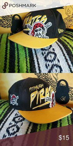 Shop Men s New Era Black Yellow size Snapback Hats at a discounted price at  Poshmark. Description  Pittsburgh Pirates New Era Snapback black yellow. e2f5a9b96134