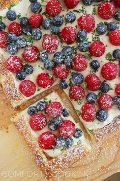 The Comfort of Cooking » Summer Berry Tart