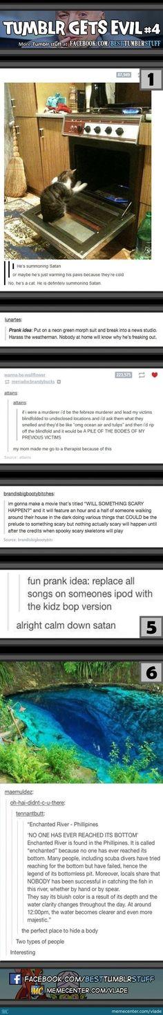 Tumblr Gets Evil: