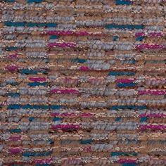 Fuchsia/Blue/Beige/Gray Wool Knit