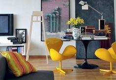 Cadeiras.