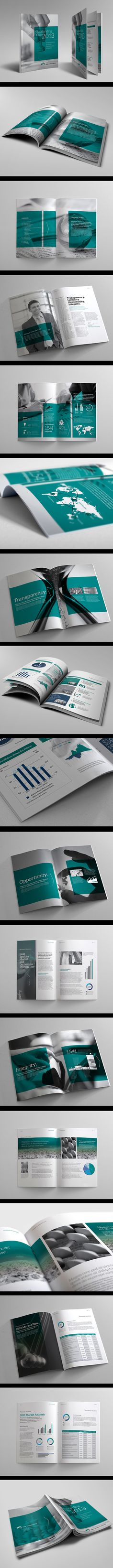 Corporate Annual Report Vol.4 on Behance