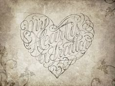 Hand Lettering by Robert Chin at Coroflot.com