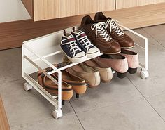 under bed shoe storage solution