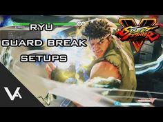 Street Fighter V - Ryu Guard Break Unblockable Setup Tutorial Street Fighter 5, Guys, Sons, Boys