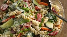 Wow the crowd with pasta salads that layer on the flavor like it's their job (looking at you, 4.5 star-rated ranch spinach pasta!).