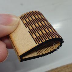 akisaku/kerf bending 〜 木の板に溝を入れて曲げる : Recipe
