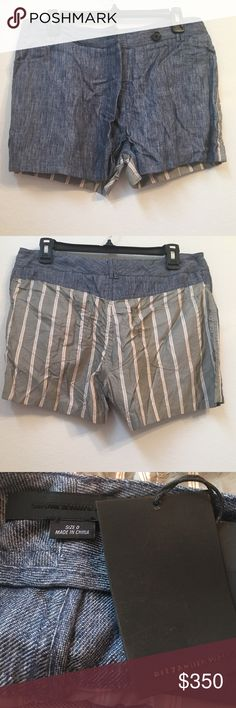 NWT $350 ALEXANDER WANG Blue Shorts Striped Back NWT $350 ALEXANDER WANG C15 100% Linen Blue Shorts With Striped Back Size 0  Your satisfaction is our #1 priority. This is why we ship twice daily Monday thru Saturday to get the item to you as quickly as possible!! :). If for any reason you are not100%satisfied please message us and we will work with you to make it right!!     -Retails Price: $350 + TAX -Material: 100% Linen -Item Features: 3 front pockets, 2 back pockets Alexander Wang…