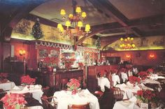 Musso And Frank Grill in L.A., Christmas time