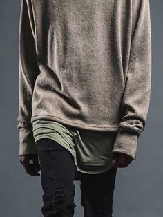 Slouchy - I bet Justin B likes this look