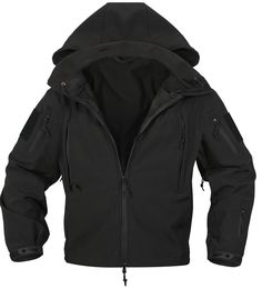 Special OPS Tactical Soft Shell Jacket w Waterproof Shell – Grunt Force