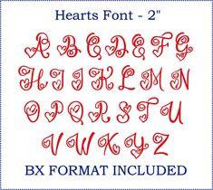 Fancy Fonts Alphabet, Handwriting Alphabet, Hand Lettering Alphabet, Lettering Styles, Creative Lettering, Different Lettering, Heart Font, Hand Lettering For Beginners, Halloween Fonts