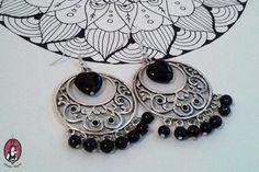 Black Oriental Earrings   https://www.facebook.com/blitheproject/  http://www.blitheproject.hu/