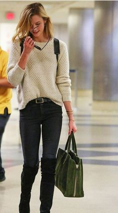 """""""You can travel in a T-shirt and jeans, but as long as you jave a gorgeous bag... You're golden. """" ~ K.K."""