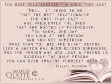 The best relationship the ones that last -Relationship Quote