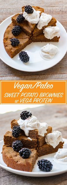 These Vegan Sweet Potato Brownies are simple, delicious, and pack a healthy protein punch!