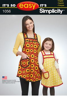 Simplicity Creative Group - It's So Easy Mother Daughter Aprons