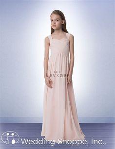 Little Sister's Bill Levkoff Junior Bridesmaid Dress 16502