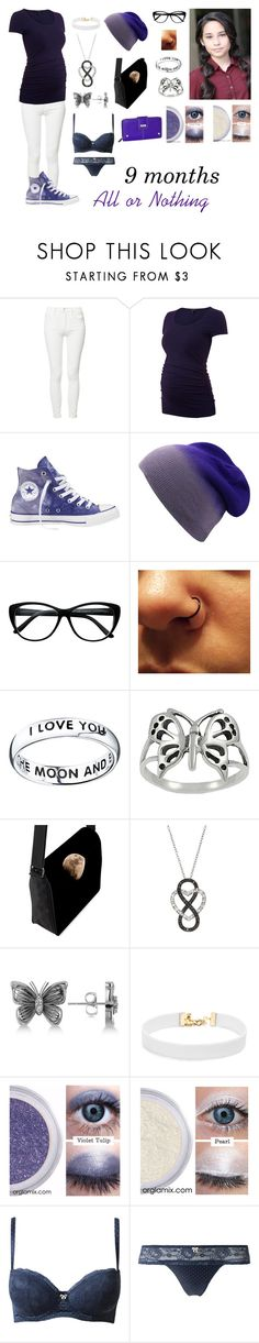 """""""Andrea Anderson-All or Nothing pt. 1-Glee OC"""" by silverbellatrix ❤ liked on Polyvore featuring Mother, Converse, Bridge Jewelry, Journee Collection, Allurez, Vanessa Mooney, Intimissimi and Buxton"""
