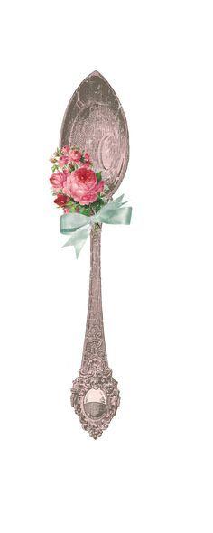 Vintage Spoon printable